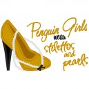 Stilettos and Pearls Penguins