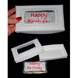 In Hoop Birthday Cake in a box