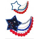 4th of July Necklace
