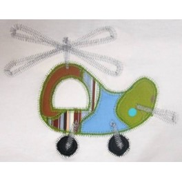 Patchwork Helicopter