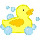 Duck with Bubbles