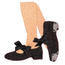 Machine Embroidery Designs > Shoes Filled > Filled Tap Shoes