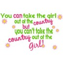 Country Out Of Girl