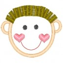 outline-little-boy-spiked-hair-embroidery-design