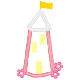 Princess Castle Mega Hoop Design