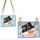In Hoop Snowman Bag