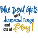 Rings and Bling Bluedevil