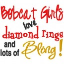 Rings and Bling Bobcat