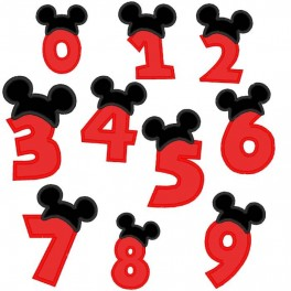 Mousehat Boy Numbers