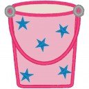 Bucket with Stars