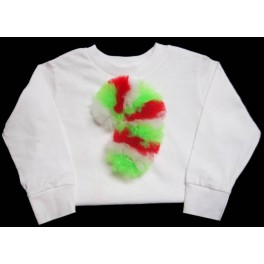 Tulle Candy Cane