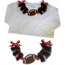 Necklace Tulle Football