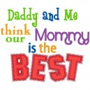 Daddy And Me_ Mommy's The Best