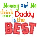 Mommy And Me _ Daddy's The Best