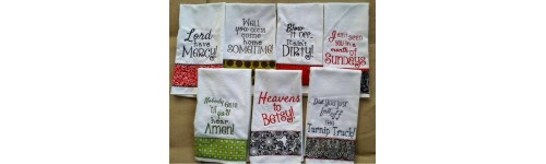 Kitchen and Bathroom Sayings Sets