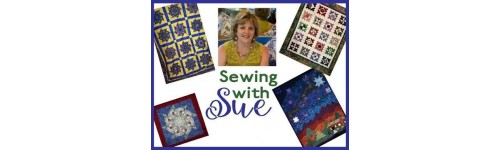 Sewing With Sue In Hoop Quilt Squares