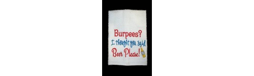 Workout Towel Sayings