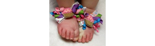 In Hoop Barefoot Sandals for Baby