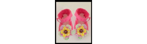 In Hoop Baby Shoes and Hats