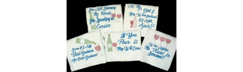 Towel Saying Sets