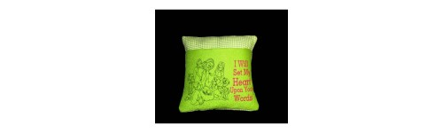 Religious Reading Pillow Designs
