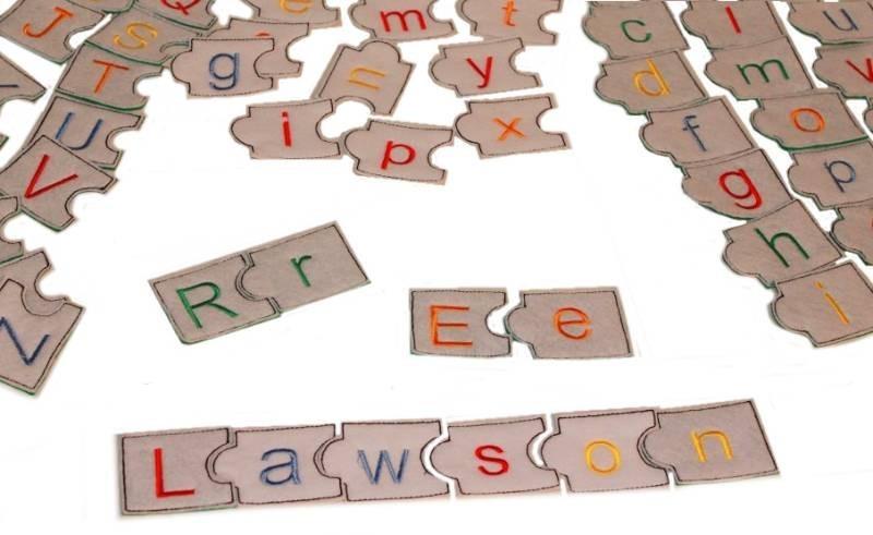 In Hoop Puzzle Alphabets - NobbieNeezKids