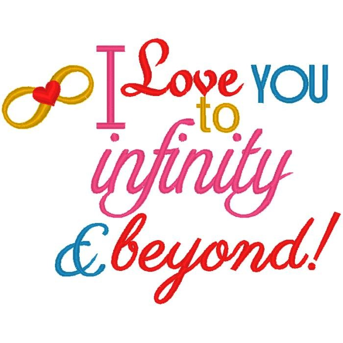 Love you to Infinity and Beyond - NobbieNeezKids