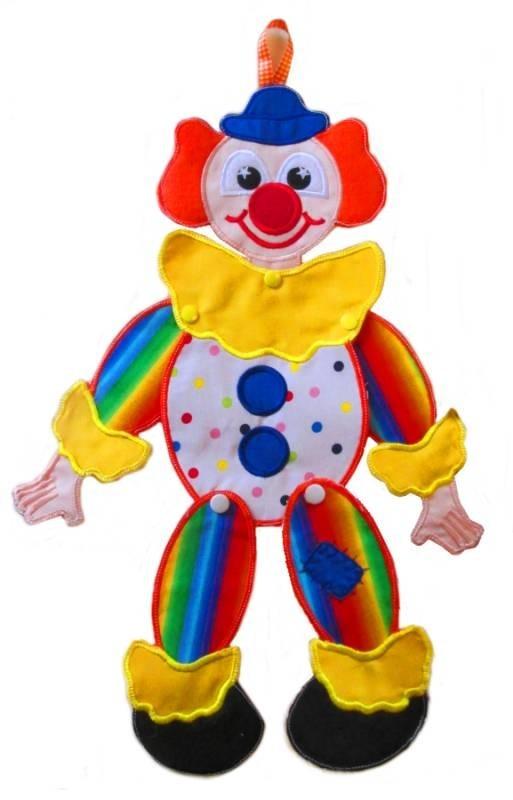 In Hoop Clown Door Hanger Nobbieneezkids