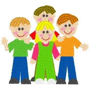 Four Kids 3 Boys 1 Girl Nobbieneezkids